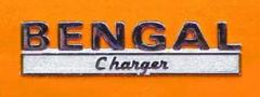1968 Dodge Charger Bengal Edition Emblem