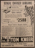 Bengal Charger Newspaper Ad