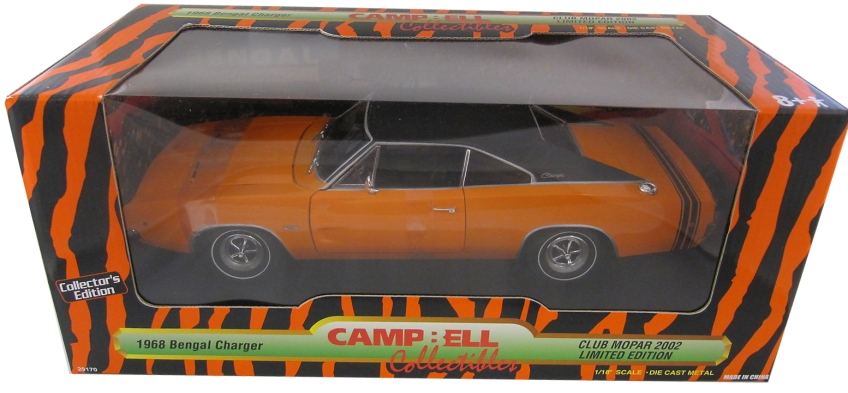1968 Dodge Charger Bengal Edition Diecast