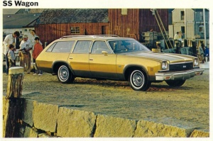 1973 Chevrolet Chevelle SS Wagon