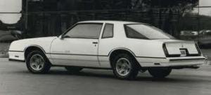 1986 Chevrolet Monte Carlo Aerocoupe