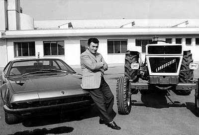 Lamborghini Car and Tractor