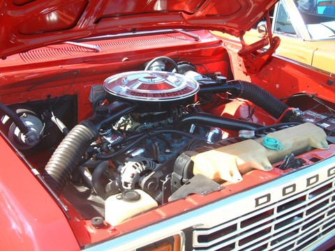 Dodge Lil Red Express Engine