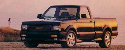 1991 GMC Syclone Front and Side #2