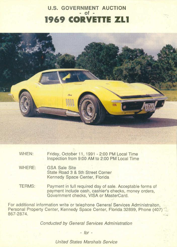 1969 Chevrolet Corvette Zl1 Tommy S Car Blog