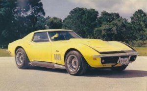 1969 Chevrolet Corvette ZL1 Cover