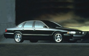 1996 Chevrolet Impala SS Front Side #2