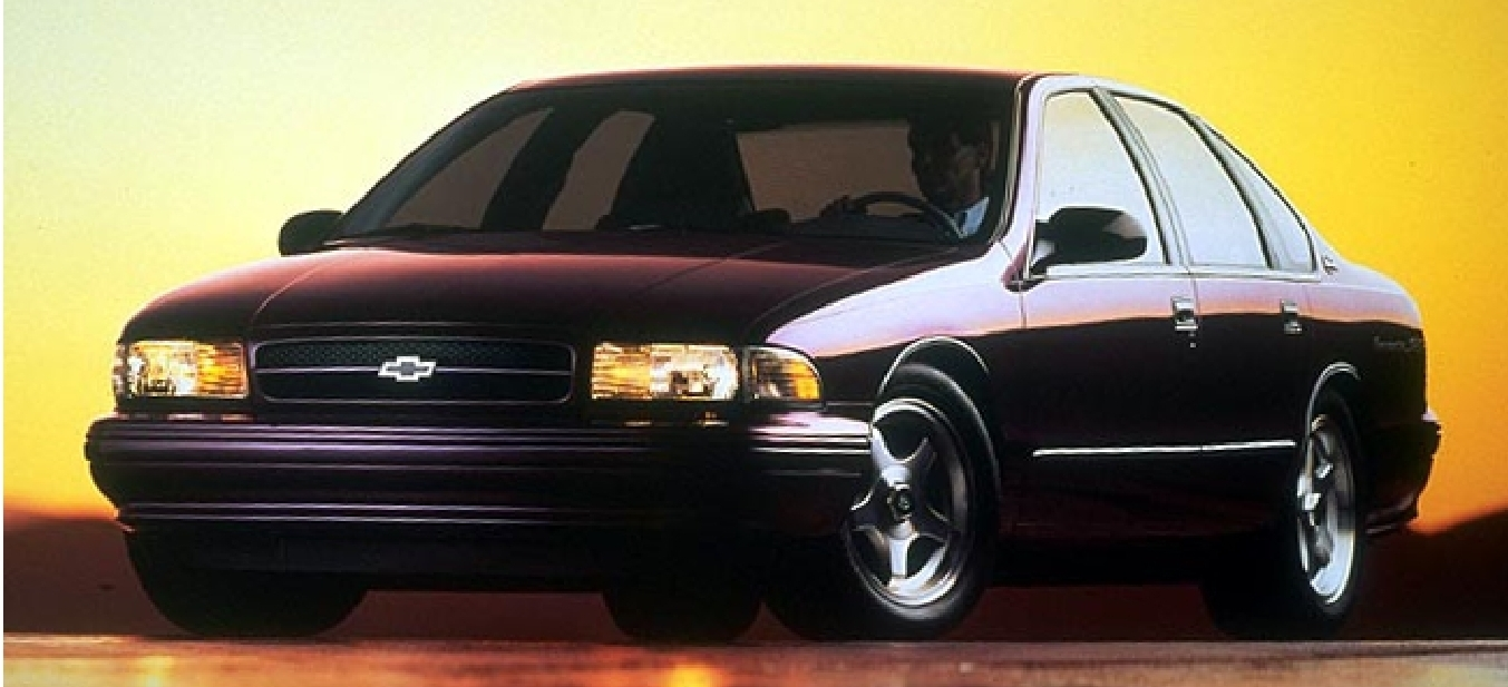 1994 Chevrolet Caprice Classic LS specifications amp stats