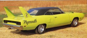 1970 Plymouth SuperBird Rear