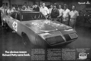1970 Plymouth Superbird Richard Petty