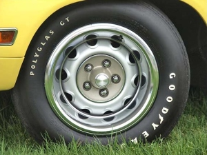 1970 Plymouth Superbird Wheels