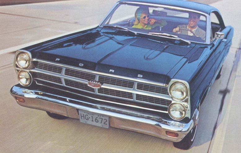 1967 Ford Fairlane Front Side