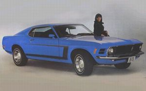 1970 Ford Mustang Grabber Special Edition
