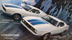 1972 Ford Mustang Sprint 200 Limited Edition