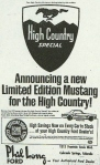 High Country Mustang