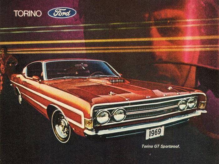 1969 ford torino fastback 2 tcb
