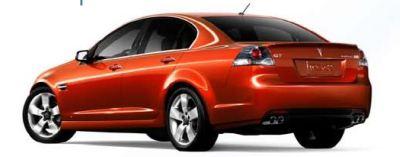 2008 Pontiac G8 Rear TCB