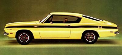 1969 Plymouth Barracuda TCB
