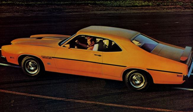 1970 Mercury Cyclone TCB