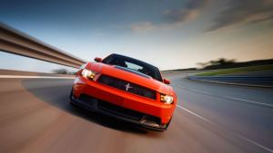2012 Ford Mustang Boss 302 #1 WAC