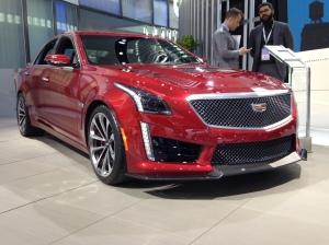 2016 Cadillac CTS-V #1