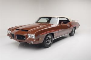1971 Pontiac GTO Judge Convertible Barrett Jackson