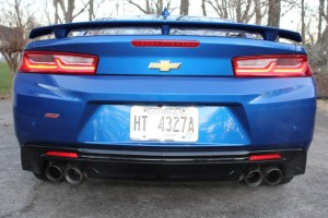 2016 Chevrolet Camaro Rear