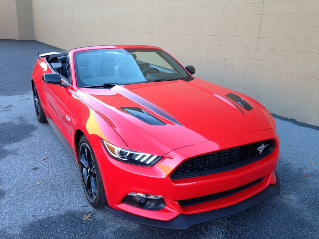 2016 ford mustang gt california special convertible first drive review. Black Bedroom Furniture Sets. Home Design Ideas