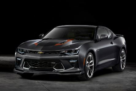 2017 Chevrolet Camaro 50th Anniversary Cover