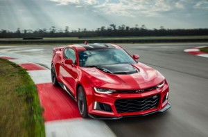 2017 Chevrolet Camaro ZL1 Cover