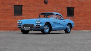 1961 Chevrolet Corvette Mecum #1
