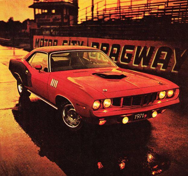 1971 Plymouth Cuda Hemi WAC #1