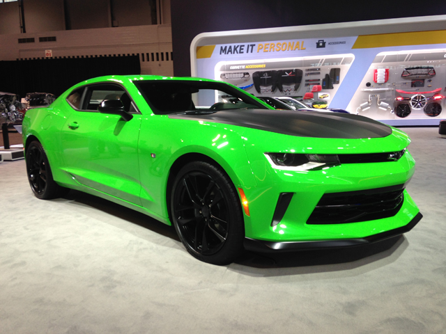 Muscle Cars At The Chicago Auto Show Tommy S Car Blog
